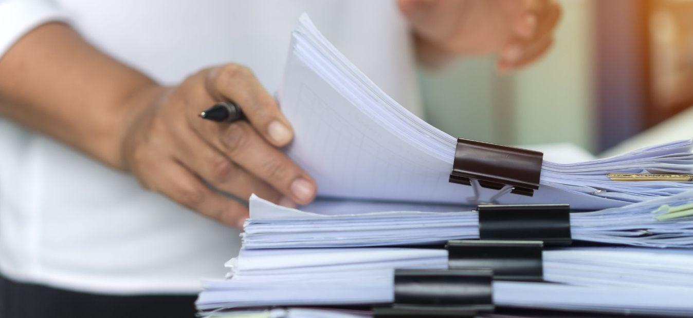 motivos para reduzir o consumo de papel